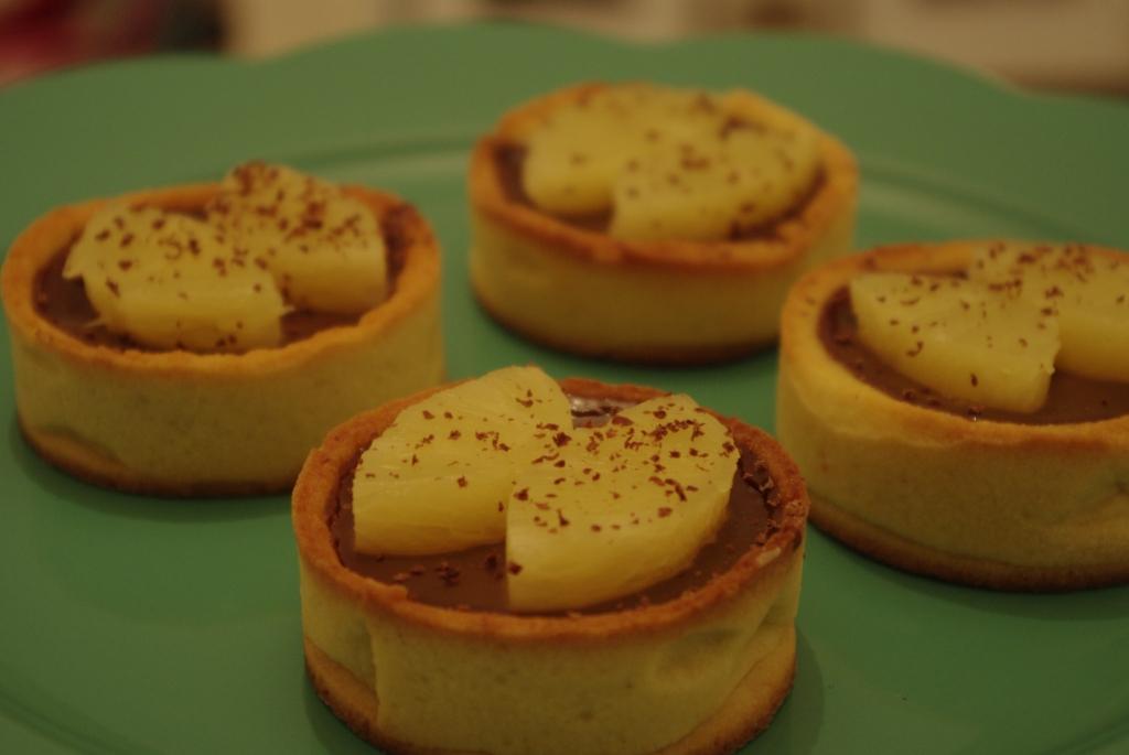 Tartes carambar et ananas