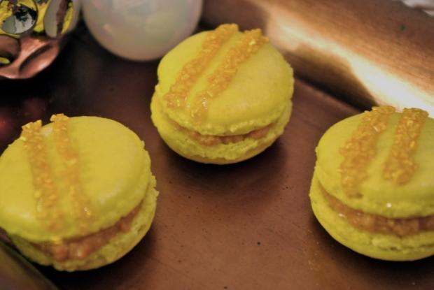 macarons foie gras robe d'or
