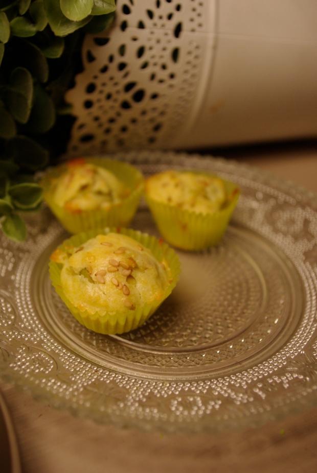 mini bouchées olives sésame
