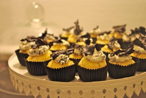 cupcakes cèpes trompettes de la mort