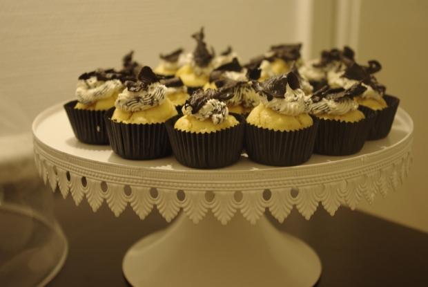 cupcakes cèpes et trompettes de la mort