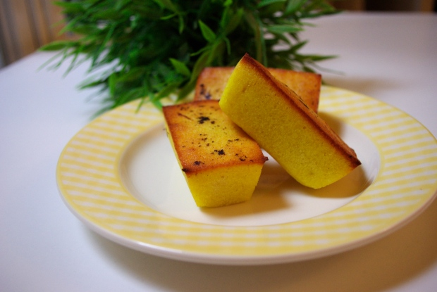 financiers orange vanille
