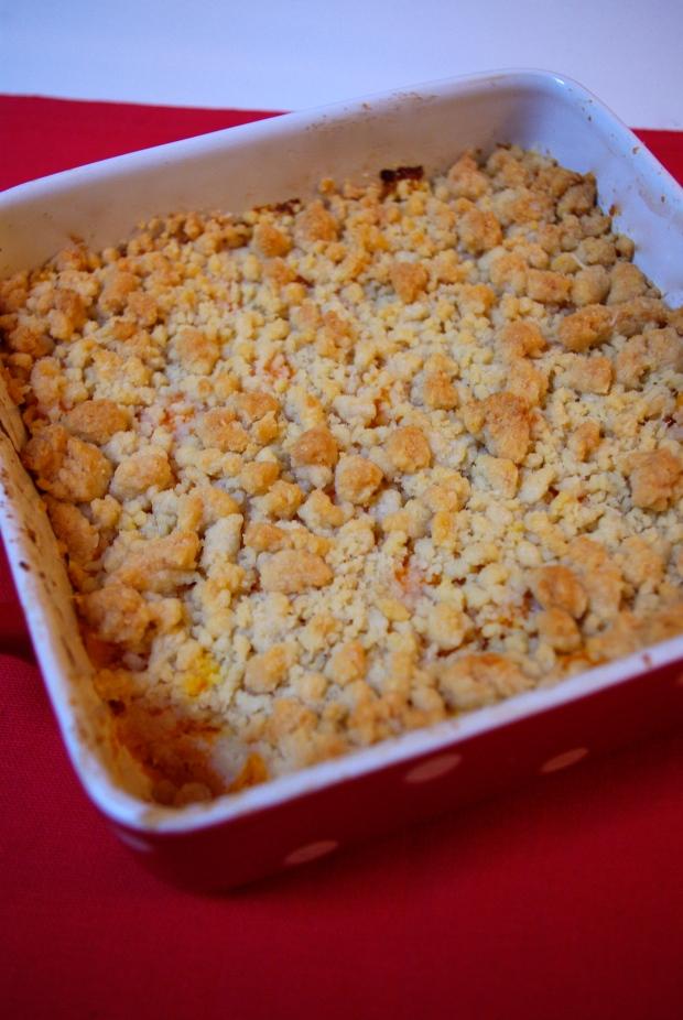 crumble de butternut au parmesan
