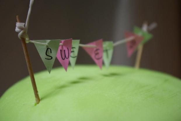gâteau pâte à sucre