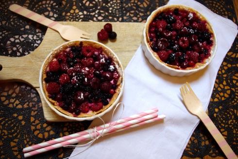 tartelettes aux fruits rouges
