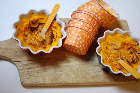 flan carottes moutarde