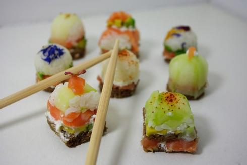 Oshi Sushi maison ☁ - Marine is Cooking