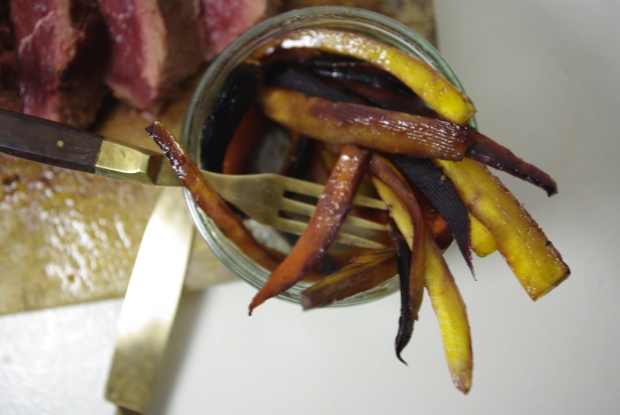 magret canard miel carottes anciennes