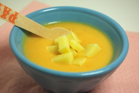 soupe carottes topinambours comté