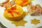 saumon piment d'espelette patate douche gelée thé