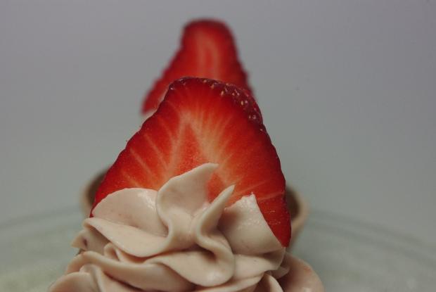 cupcakes à la fraise