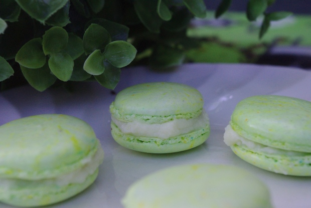 macarons chocolat blanc menthe fraiche
