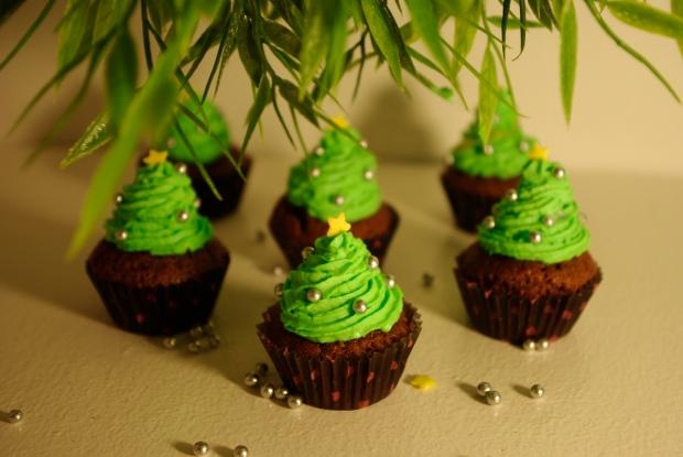 cupcakes de noel