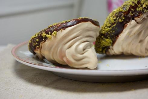 meringue chocolat pistache