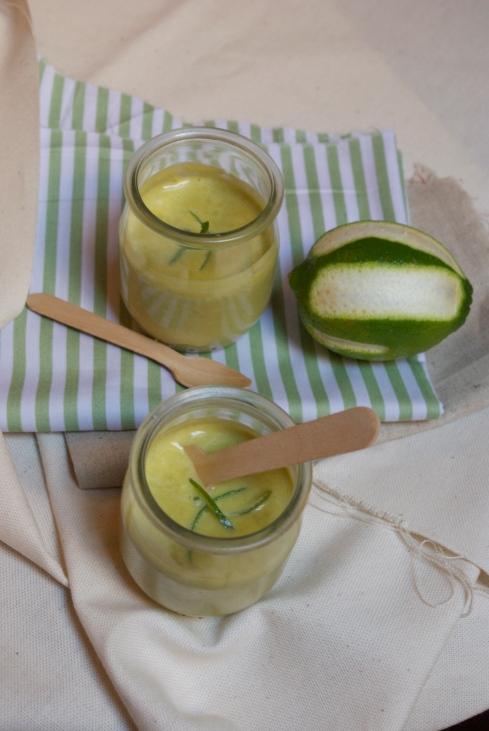gaspacho petis pois citron vert