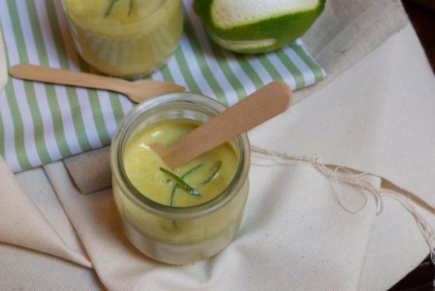 velouté petit pois citron vert