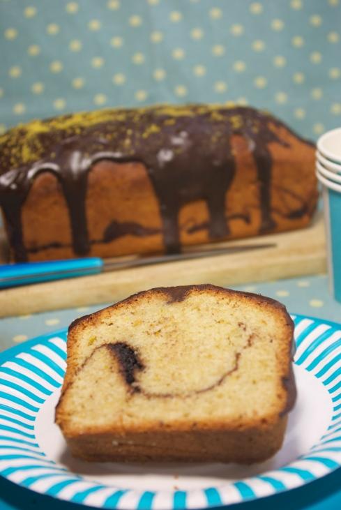 cake noisettes, pistache chocolat