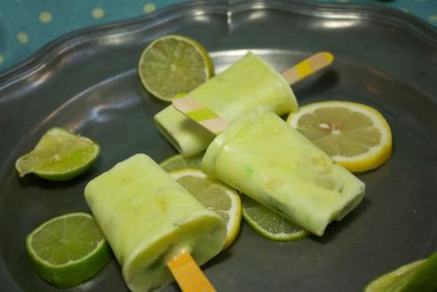 popsicles citron citron vert