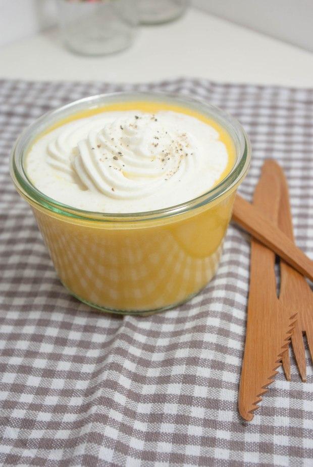 velouté butternut crème de cèes