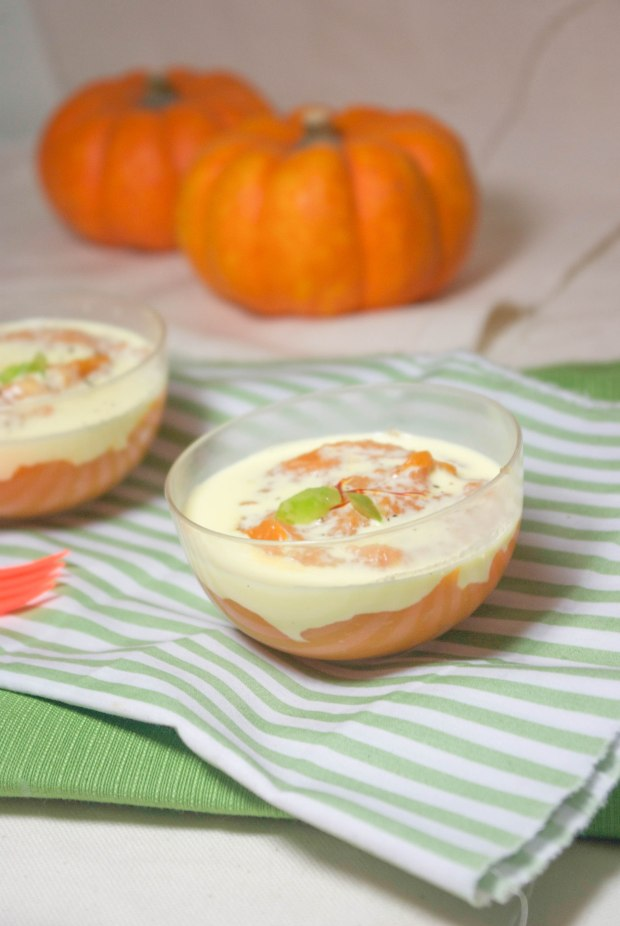 purée patates douce crème safran
