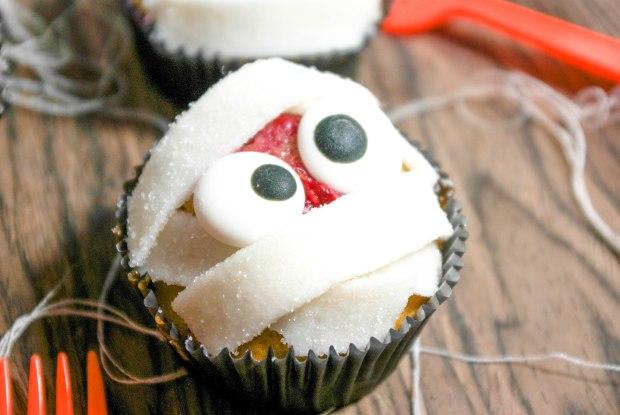 cupcakes momies halloween
