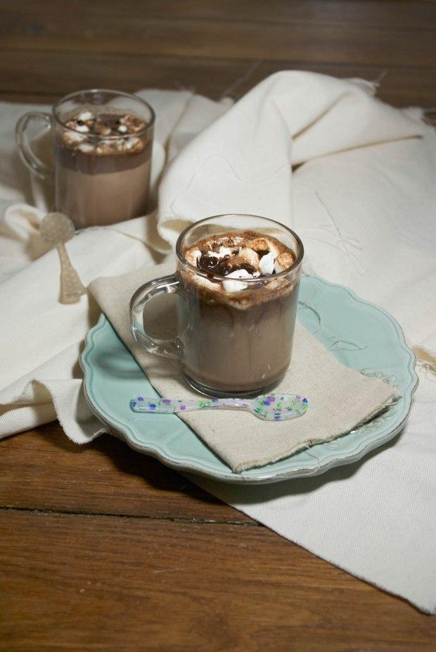chocolat chaud Marshmallow