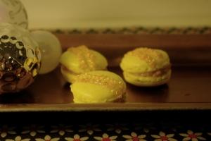 macarons foie gras