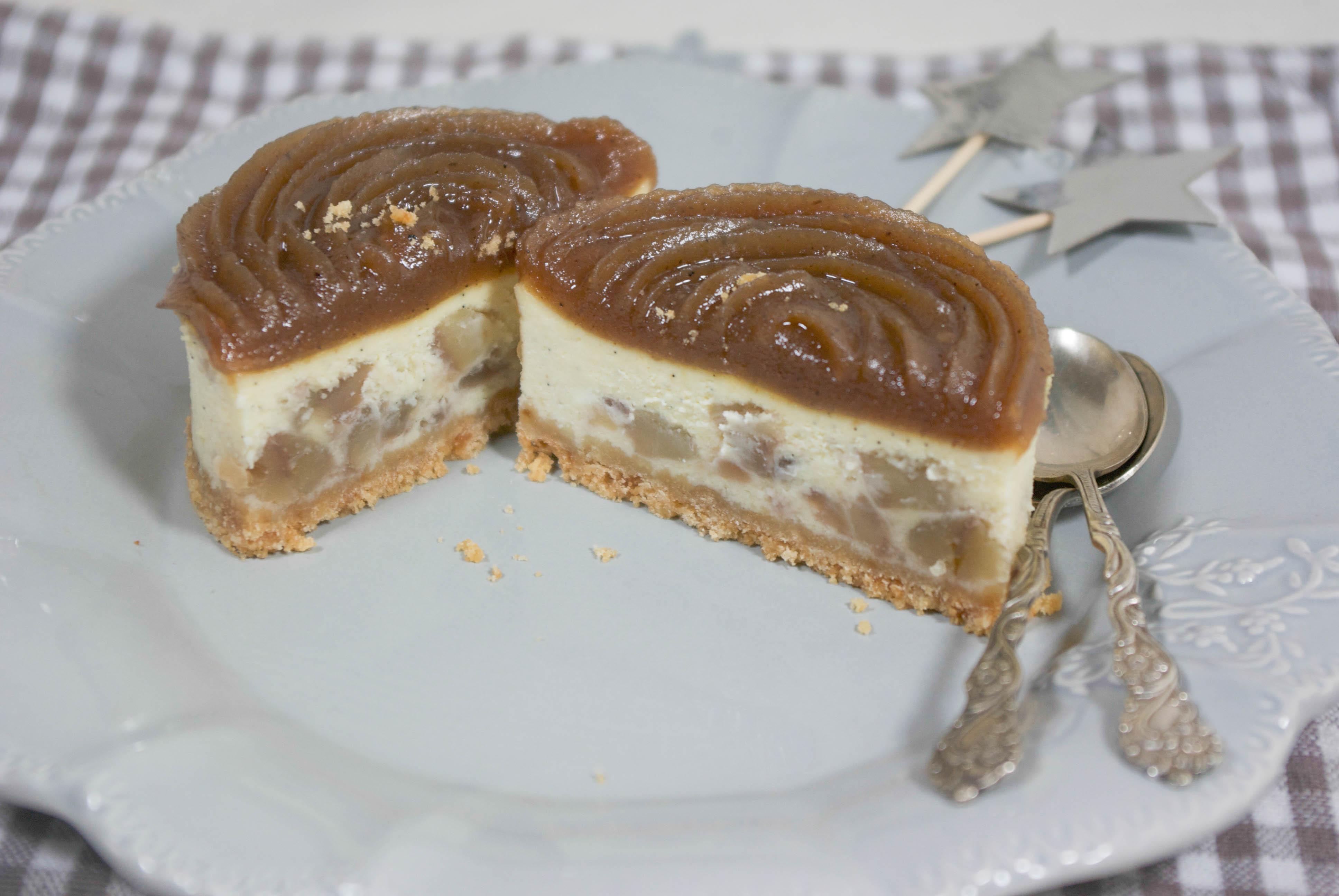 cheesecake aux marrons (by sephora saada et canderel) de noël