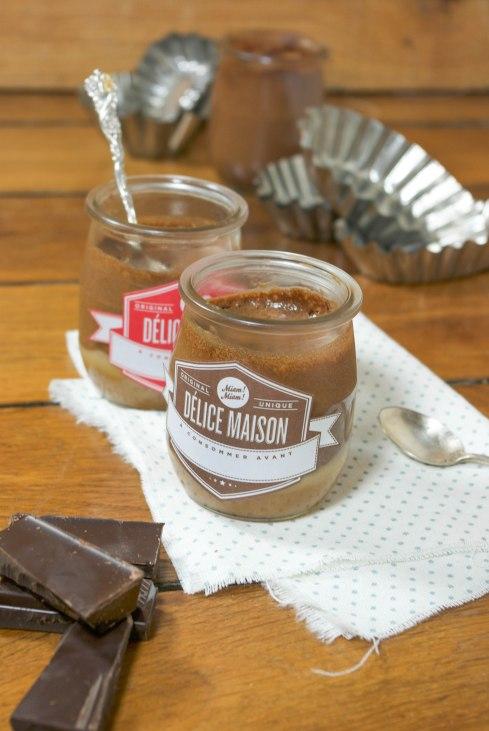 mousse chocolat caramel beurre salé