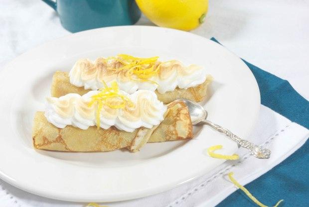 crepe citron meringuée