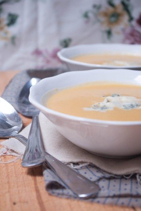 soupe potiron gorgonzola