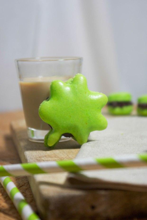 macarons saint patrick