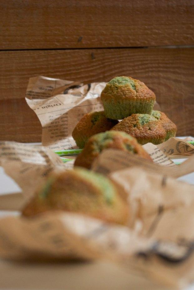 muffins pistache