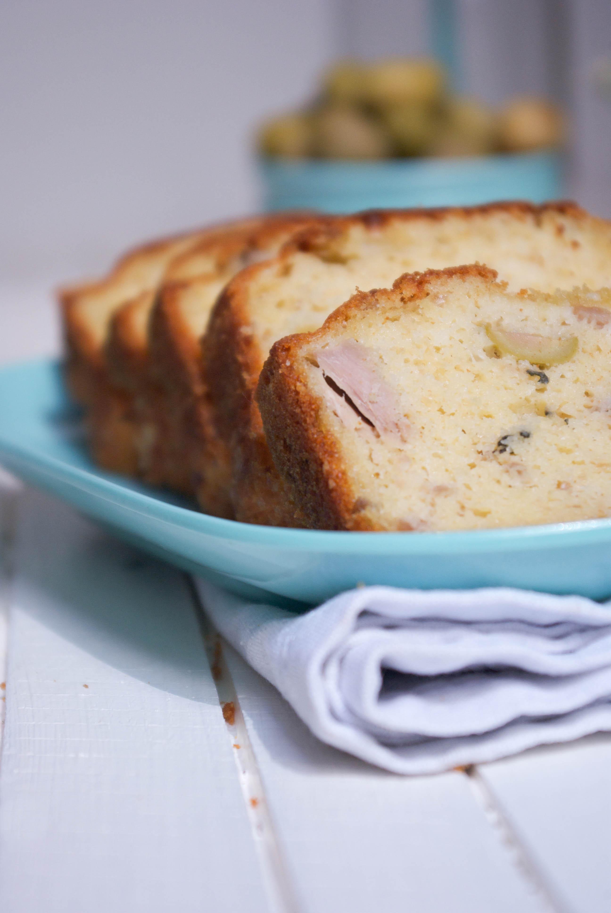 Cake Au Thon Et Olives Sans Huile