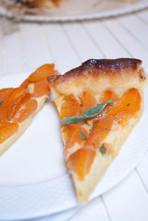 tarte abricots verveine