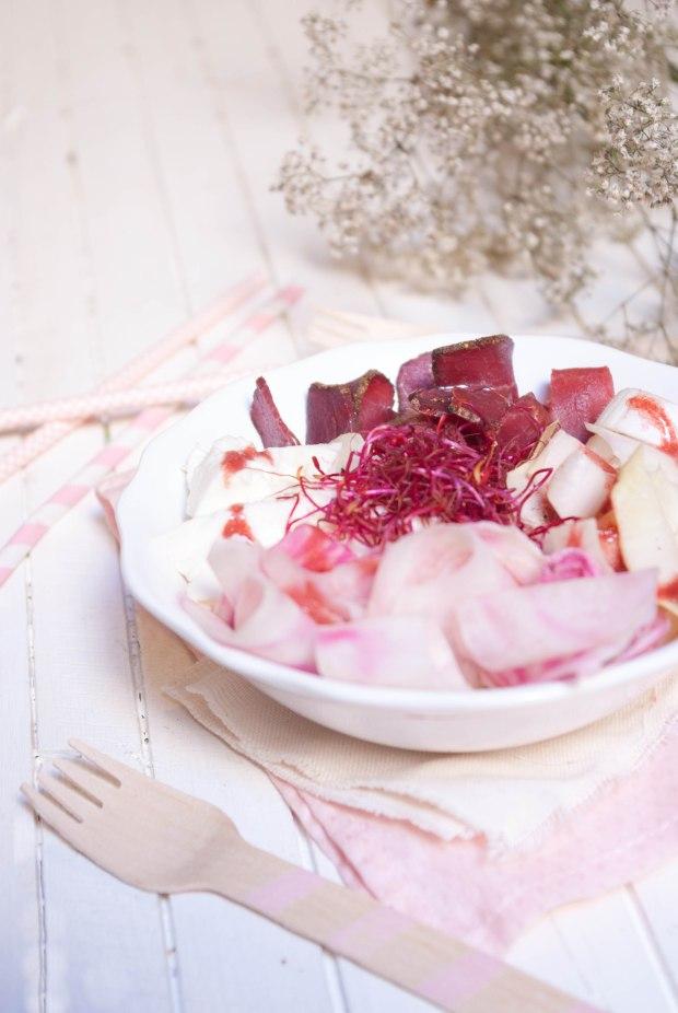 pink salad