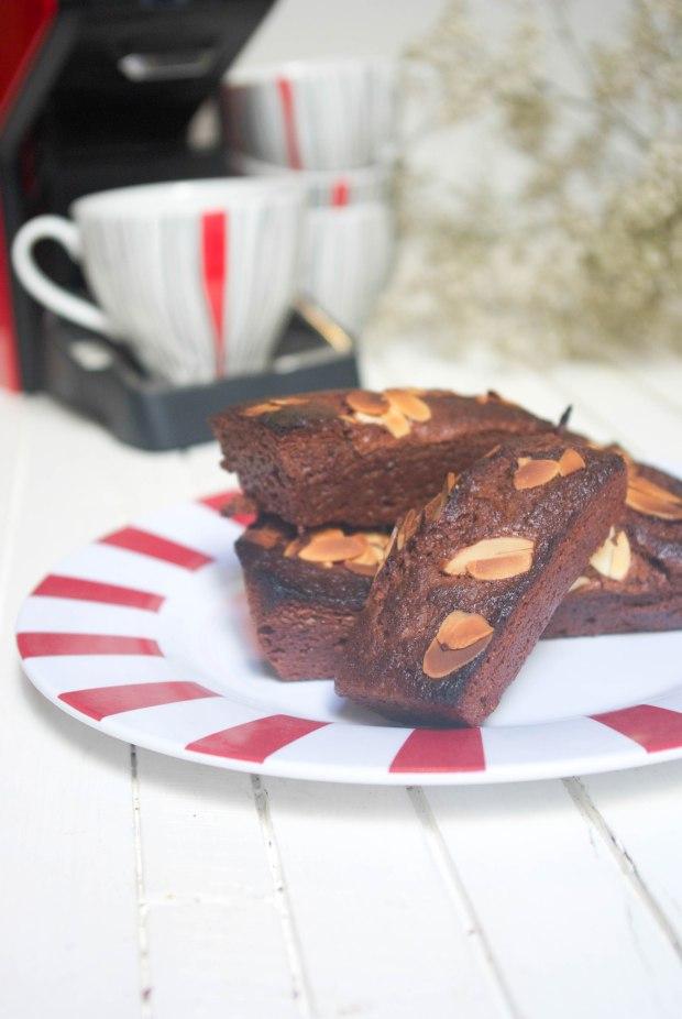 gâteaux chocolat café amandes