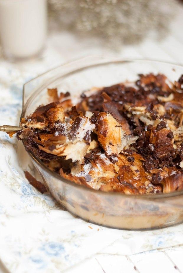 croissants perdus caramel pépites de chocolat