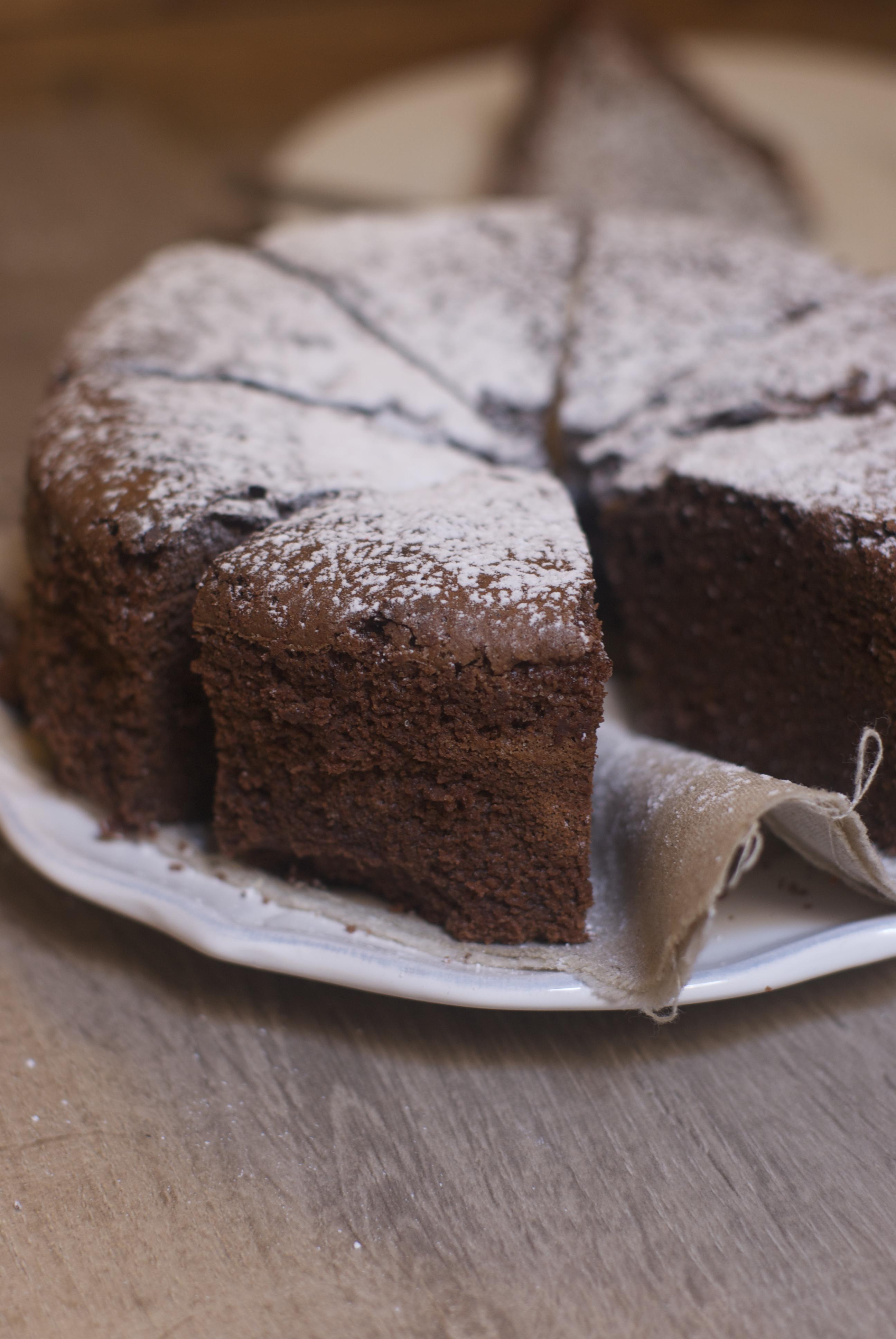 Gateau Au Chocolat Dans Moule A Cake