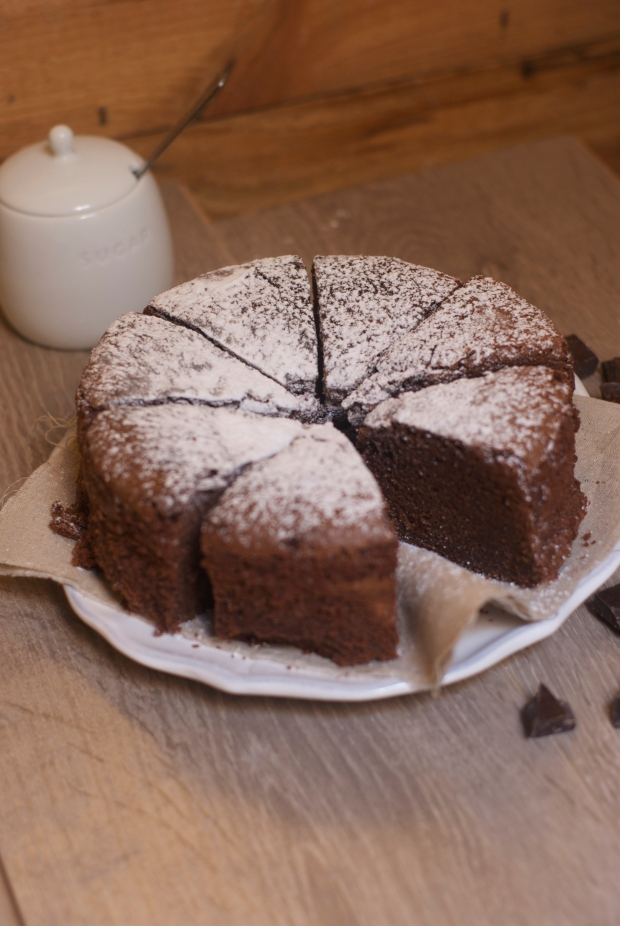 gâteau chocolat  grand'mère