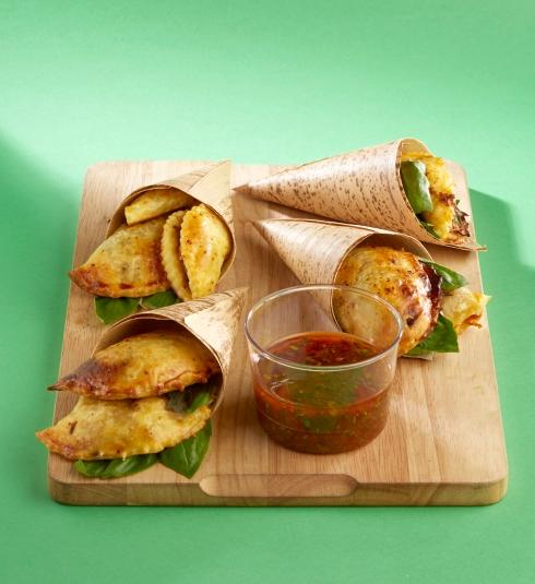 empanadas confit canard tomates séchées