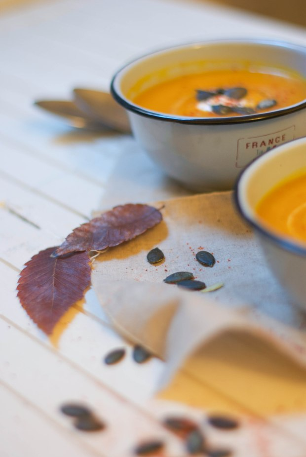 soupe butternut piment d'espelette