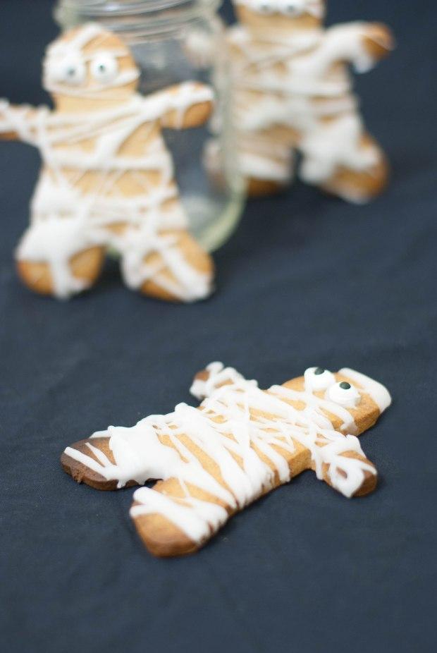 sablés momies mommy cookie