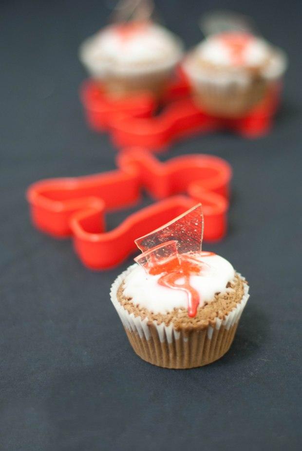 broken cupcakes halloween