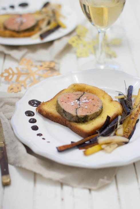 brioche perdue foie gras chocolat marineiscooking