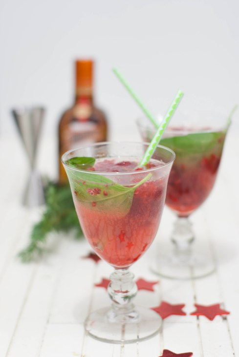 cocktail de noël rouge marineiscooking