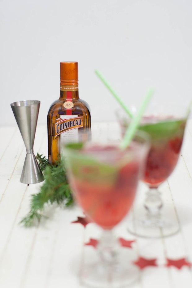cocktail de noël rouge marineiscooking