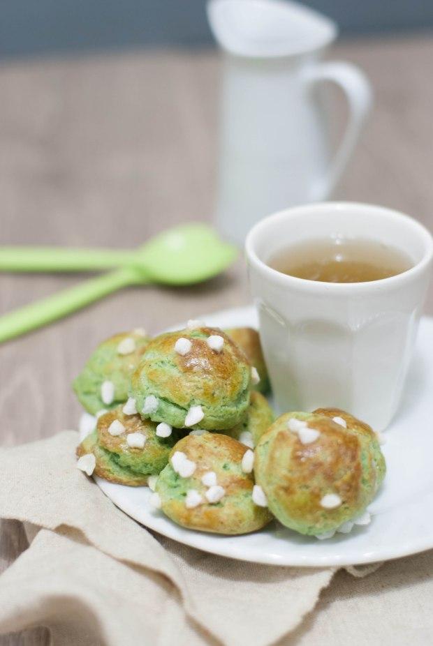 chouquettes pistache 1