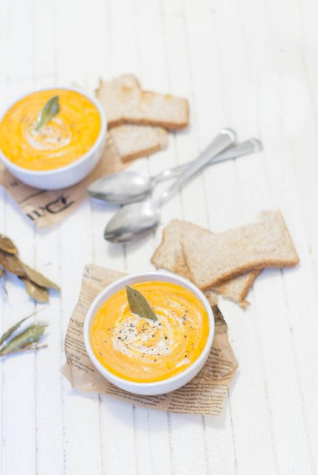 soupe légume grillés 1