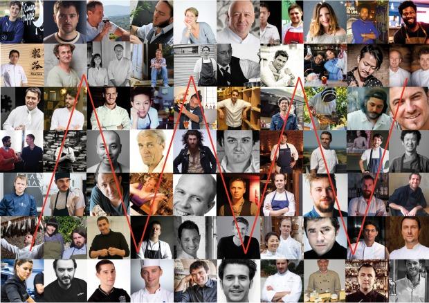Mosaique chefs_Rouge